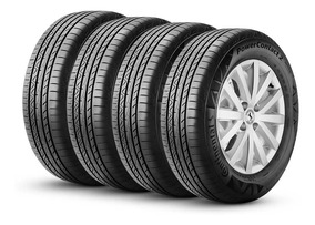Kit 4 Pneus 195/55r16 Continental Powercontact 2 87h