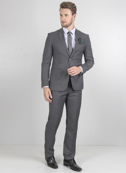 Kit Terno+calça+cinto+gravata+sapato Couro Sintético Marrom