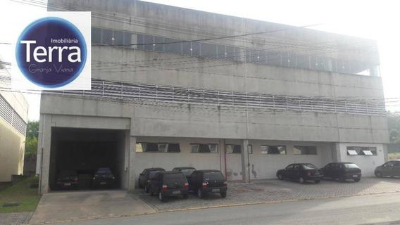 Galpão Para Alugar, 1370 M² Por R$ 20.000,00/mês - Polo Industrial Granja Viana - Cotia/sp - Ga0171