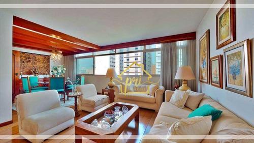 Apartamento À Venda, 192 M² Por R$ 1.700.000,00 - Paraíso - São Paulo/sp - Ap1802
