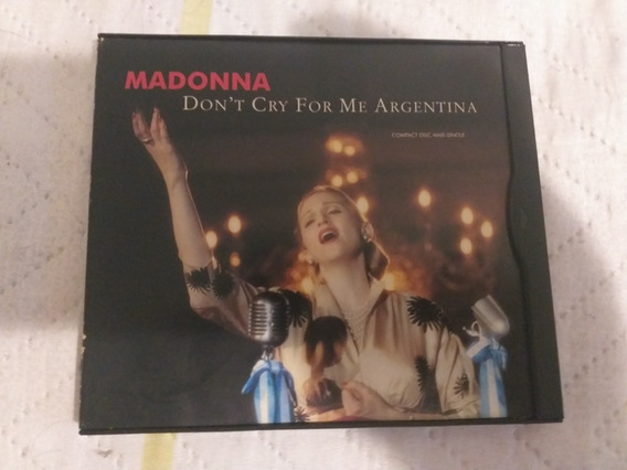 Cd Maxi Single Madonna Dont Dry For Me Argentina
