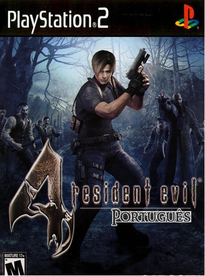 Resident Evil 4 Ps2 Patch Promoção (midia Física)
