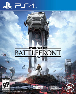 Star Wars Battlefront Ps4, Disco, Nuevo Y Sellado