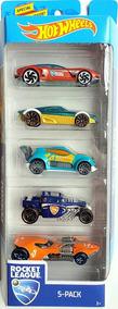 Hot Wheels Conjunto C/ 5 Carros Rocket League Fyl23 - Mattel