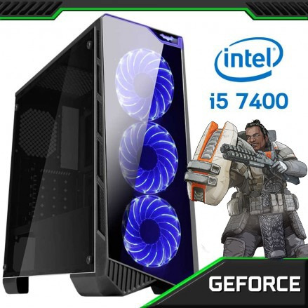 Pc Gamer Concórdia Core I5 7400 8gb Hd1tb Placa De Vídeo 4gb