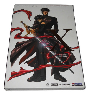 X The Complete Series Dvd 4 Discos Anime Funimation