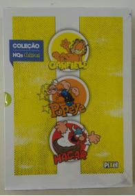 Hqs Clássicos Garfield Popeye Hagar - Pixel Vol. 1 Box