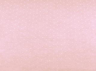 Papel Parede Vinilizado Quarto Bebê Rosa Bolinhas Brancas