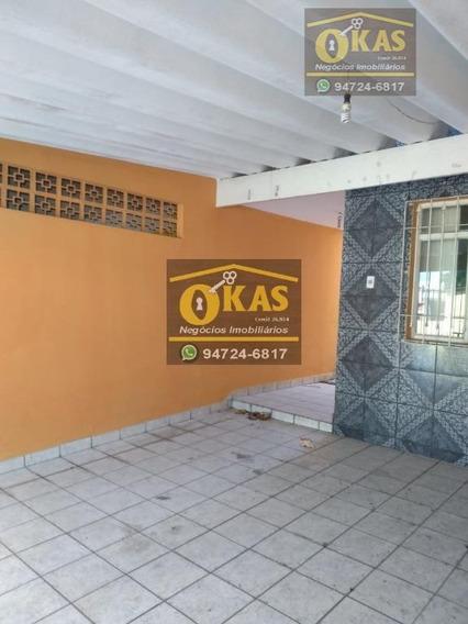 Sobrado Com 2 Dormitórios Para Alugar Por R$ 1.200/mês - Jardim Santa Lúcia - Suzano/sp - So0168