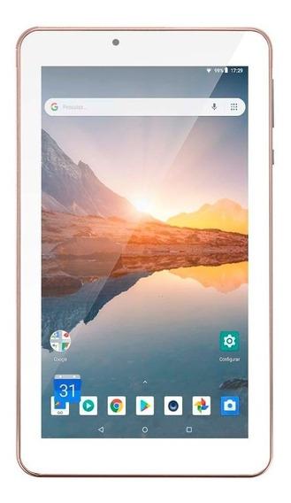 Tablet M7s Plus 16 Gb Rosa Nb300 1 Gb De Ram Com Nfe