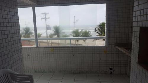 Apartamento Residencial À Venda, Cidade Beira Mar, Mongaguá. - Ap0821