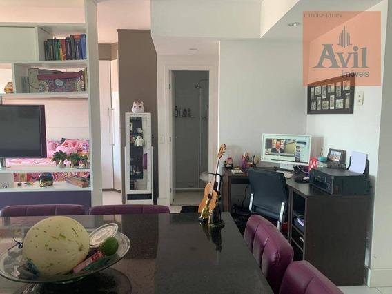 Apartamento Com 1 Dormitório À Venda, 55 M² Por R$ 500.000 - Tatuapé - São Paulo/sp - Ap2608