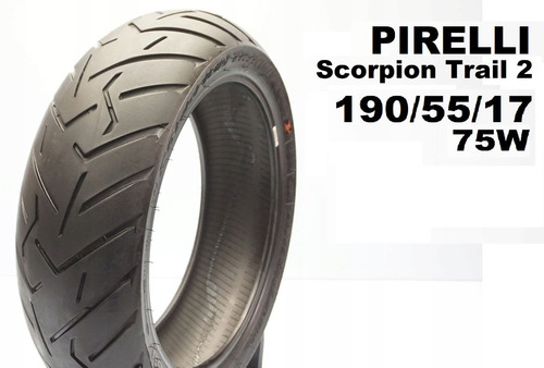 Pirelli Scorpion Trail2 190 55 17 75w - Envio Gratis