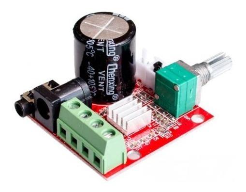 Placa Amplificador Digital 15+15=30w Rms Módulo Potência Som