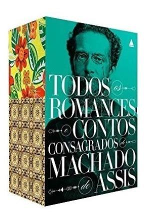 Box Livro Machado De Assis Todos Os Romances E Contos
