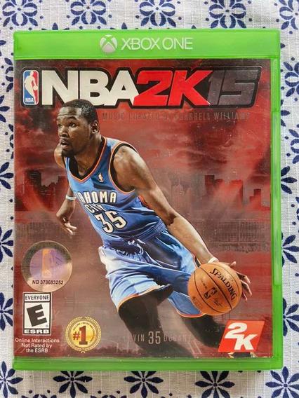 Jogo Nba 2k15 - Xbox One - Mídia Física