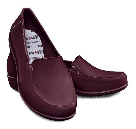 Sapato Feminino Sticky Shoe Social Woman Verniz. Ca 41532