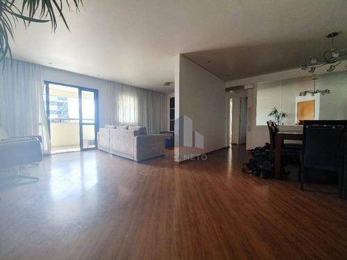Apartamento Com 2 Dormitórios Para Alugar, 144 M² Por R$ 4.000,00/mês - Centro - Santo André/sp - Ap1088