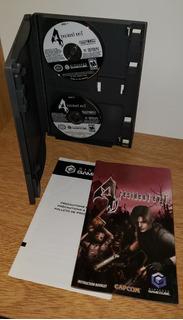 Resident Evil 4 Game Cube Usa