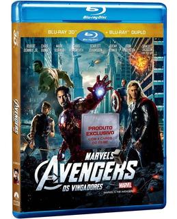 Filme Os Vingadores - Combo Blu-ray 2d + 3d