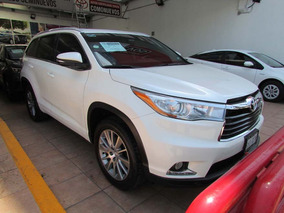 Toyota Highlander Limited Blue At Blanca
