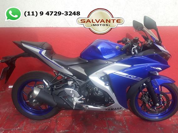 Yamaha R3 Abs Azul 2018