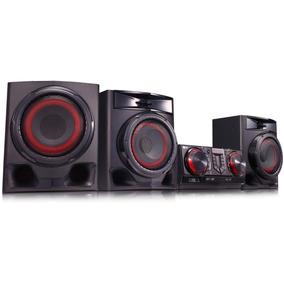Som X Boom Lg 720w Bluetooth Usb Auto Dj Cj45 Frete Grátis
