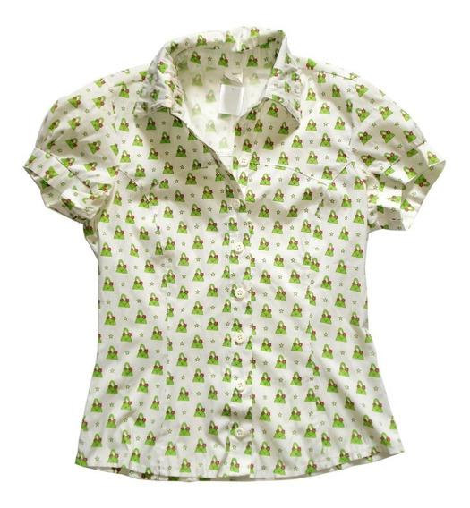 Camisa Feminina Estampa Bolsas E Estrelas
