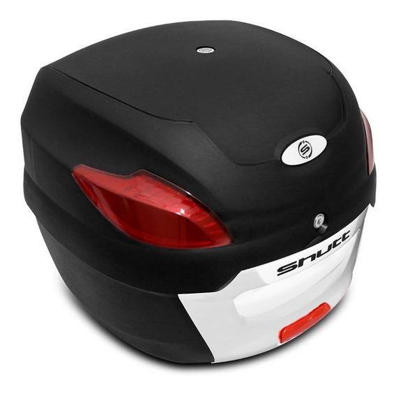 Bau Bauleto Moto Shutt 41 Litros Universal Bagageiro E Chave