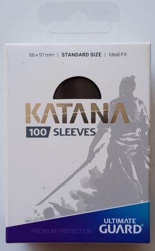 Micas Ultimate Guard Katana Standard Negro - Black