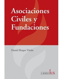 Asociaciones Civiles Y Fundaciones - Vitolo - Errius / Errep