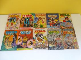 Novos Titãs Nºs 1 A 29 + 31! Editora Abril Abr 1986-set 1988
