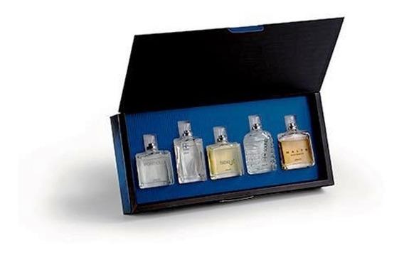 Estojo Coleção Astros 5 Perfumes Miniaturas 25ml Cada