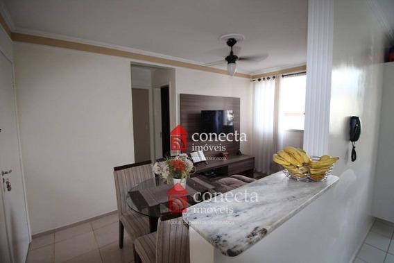 Apartamento Residencial À Venda, Residencial Spazio Plenitude, Paulínia. - Ap0293