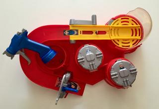 Pista Hot Wheels Color Shifters - Color Shot