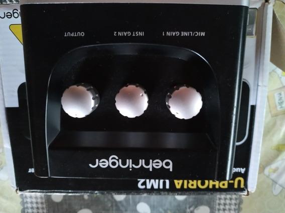 Placa De Áudio Behringer Marcar Euforia Nova Na Caixa