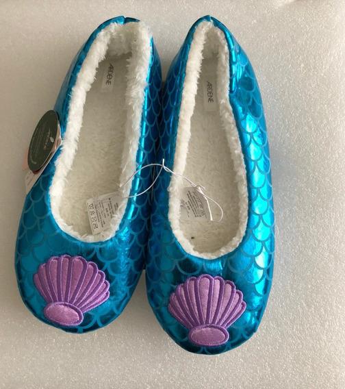 Pantuflas La Sirenita-mermaid -zapato Comodo