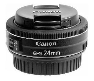 Lente Canon Nova 24mm F/2.8 Stm Garantia 1 Ano Canon/nota