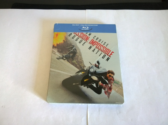 Mission Imposible Rogue Nation Steelbook Bluray/ Tom Cruise