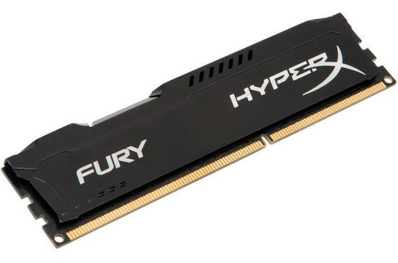 Memória Ram Hyperx Fury Gamer 4gb 1866mhz Ddr3 Cl10 Preto