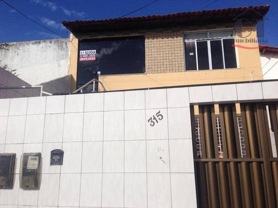 Casa Em Andar Superior No Bairro Grageru, Isenta Das Taxas De Água E Iptu - Ca0295