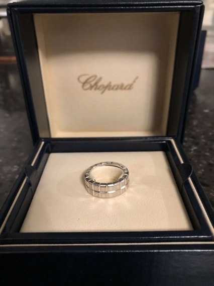 Anel Chopard Ice Cube 18k Ouro Branco
