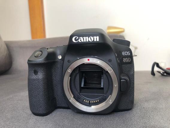 Canon Eos 80d (corpo) Como Novo