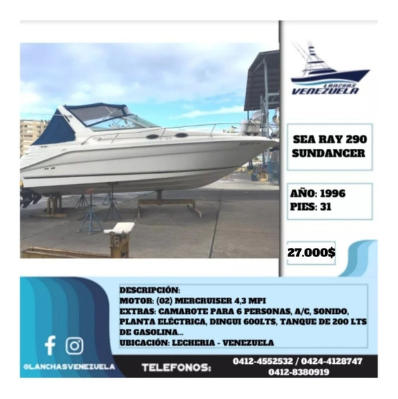 Yate Sea Ray 290 Sundancer 31 Lv550
