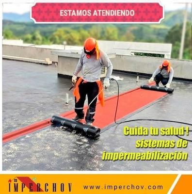 Impermeabilizacion,chova Techos,paredes,terraza,pisos,humeda