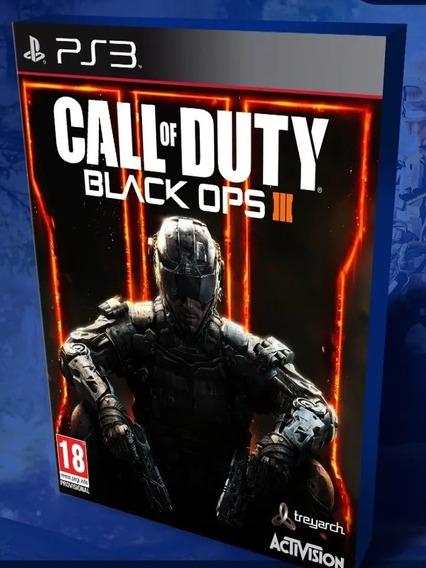 Call Of Duty Black Ops 3 Ps3 Jogo Psn Digital