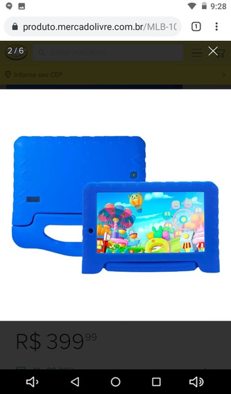Tablet Kid Pad Plus Multilaser Android 7 1gb Ram Nf-gart.