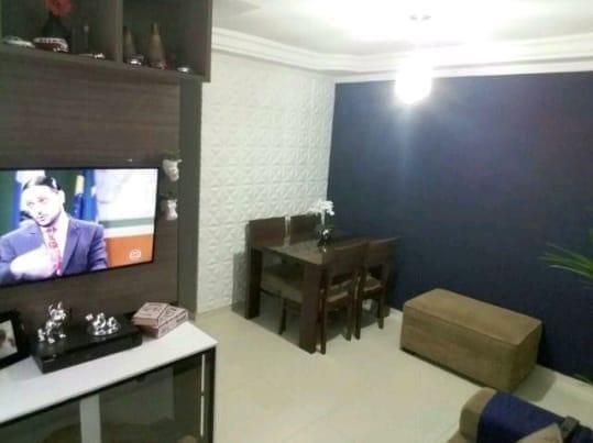 Apartamento Para Venda Em Ferraz De Vasconcelos, Jardim São Miguel, 2 Dormitórios, 1 Banheiro, 1 Vaga - V43