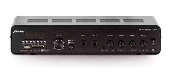 Amplificador Slim 3000 App Preto Novo