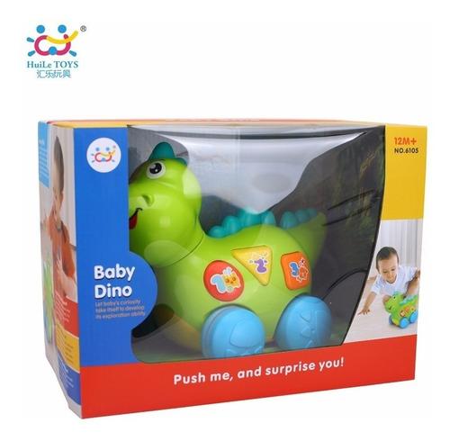 Dinosaurio C/ Luz Y Sonido Baby Dino Jem